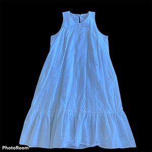 Gap cotton white Dress